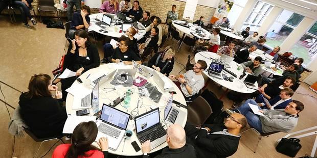 Photos Bernard Demoulin: Marathon informatique pour la g creation d' APPS