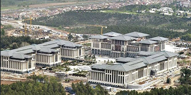 """La """"maison blanche"""" d'Erdogan fait polémique avant même d'être inaugurée"""
