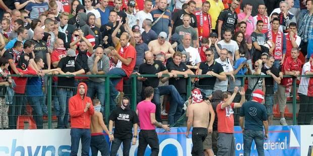 Un match à huis clos et 5000 euros d'amende pour le Standard - La Libre