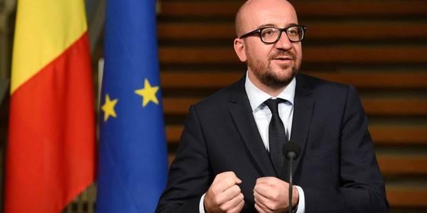 """Charles Michel: """"La Belgique a fait preuve de transparence et de sérieux"""" pour son budget 2015 - La Libre"""