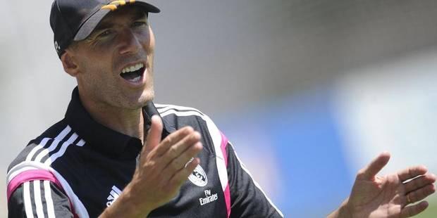 Zidane autorisé à entraîner... d'ici au jugement sur son cas - La Libre
