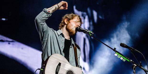 """Ed Sheeran à Forest: des chansons """"qui vont droit au coeur"""" - La Libre"""