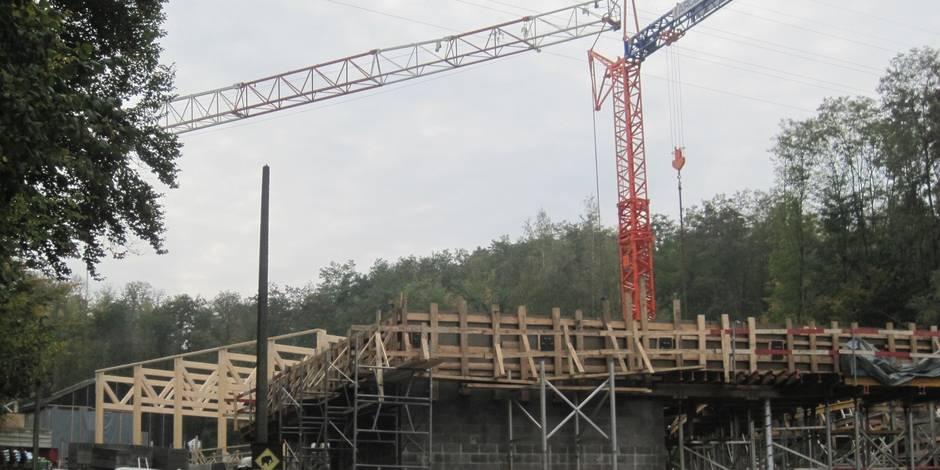Le Préhistomuseum sort de terre