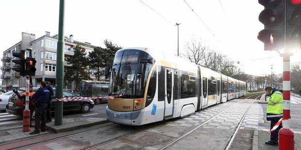 Un piéton grièvement blessé à la tête après avoir été heurté par un tram à Schaerbeek - La Libre