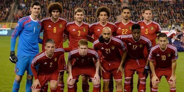Les Diables rouges restent 4e du classement FIFA