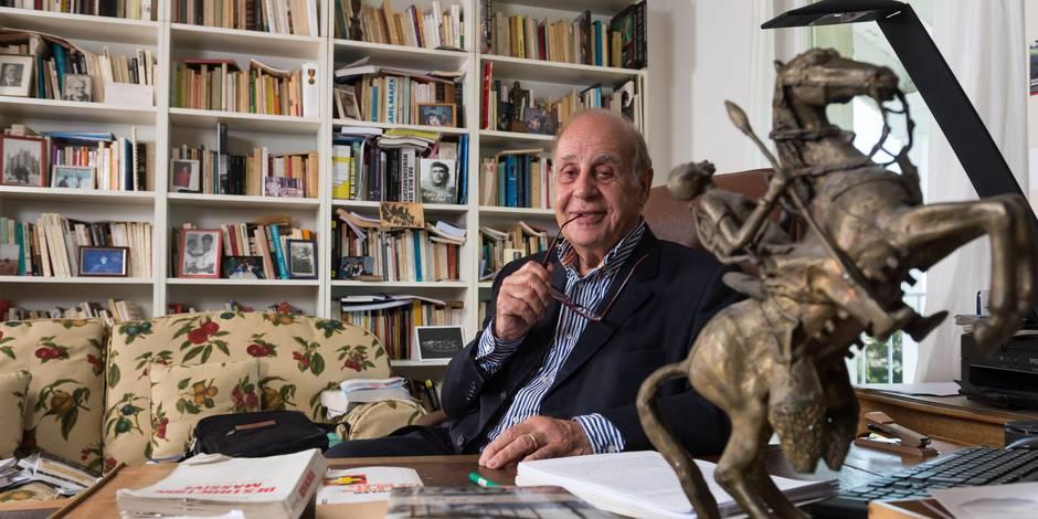 """Jean Ziegler: """"La démocratie peut faire plier les multinationales"""" - La Libre"""