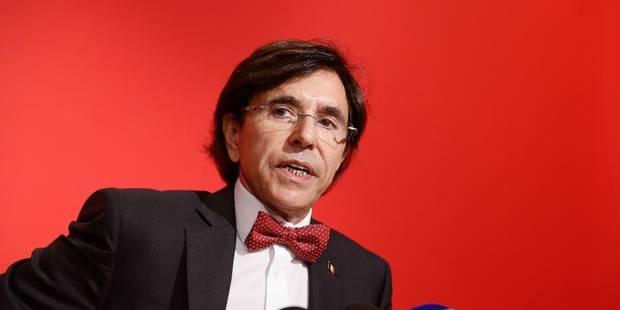 Elio Di Rupo retrouve la présidence du PS - La Libre