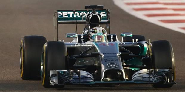 Lewis Hamilton vainqueur à Abu Dhabi et champion du monde - La Libre
