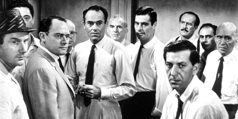 Henry Fonda With Jack Warden, E.G. Marshall, Ed Begley, Robert Webber, Jack Klugman, Martin Balsam, et al. in 12 Angry Men *Filmstill - Editorial Use Only* CAP/PLF Supplied by Capital Pictures Reporters / Capital Pictures