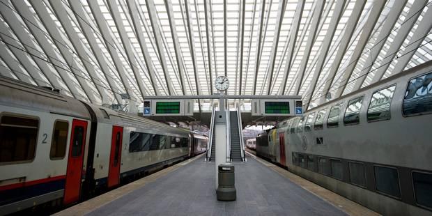 Grèves tournantes: le rail fortement perturbé en soirée - La Libre