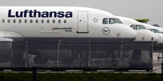 Allemagne: nouvelle grève sur le long-courrier à la Lufthansa jeudi - La Libre