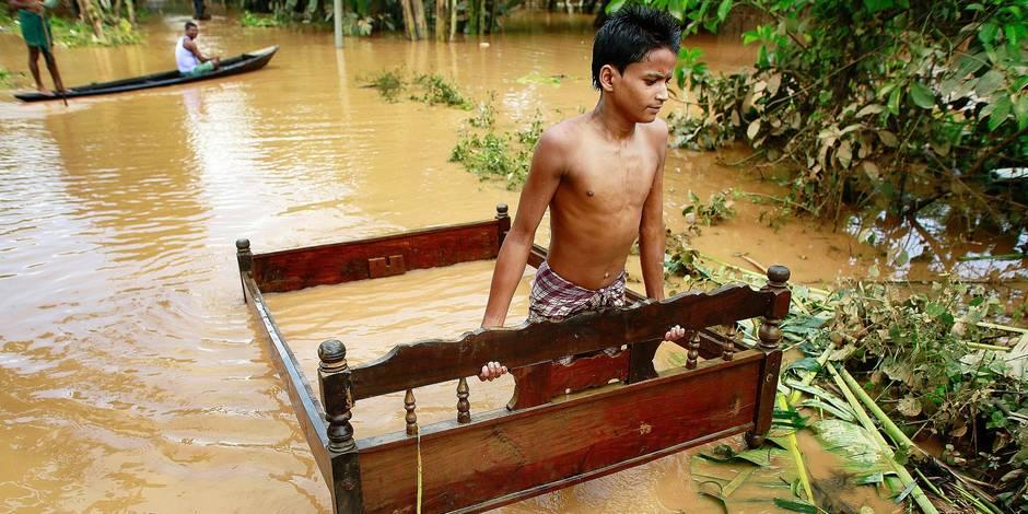 Disparition programmée, cataclysmes: les pays pauvres, victimes vulnérables du climat - La Libre