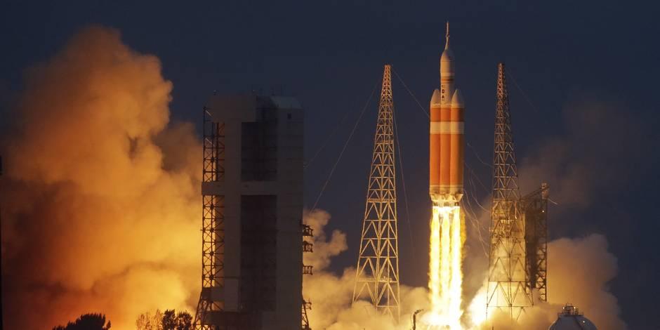 Premier vol réussi pour Orion