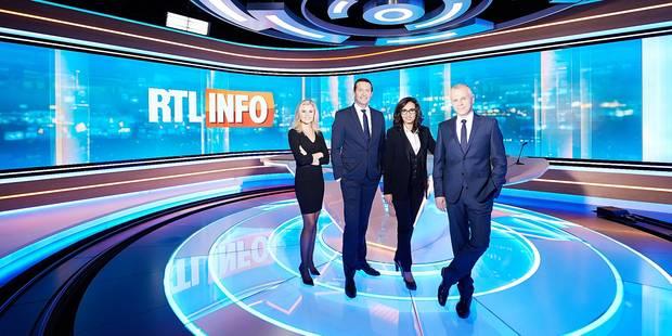 Infographies et écran géant au service de l'info chez RTL - La Libre