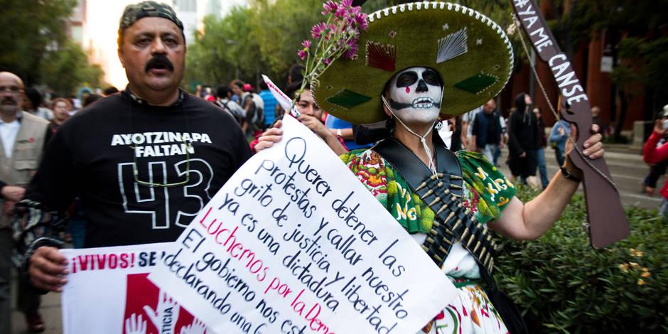 Mexique: les parents des 43 disparus demandent la suspension des élections