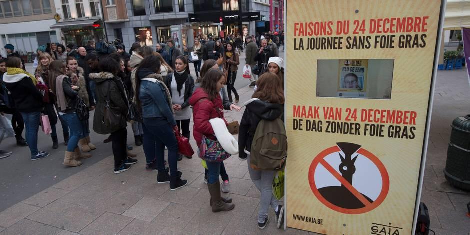 Des célébrités chantent pour faire interdire la production de foie gras en Belgique