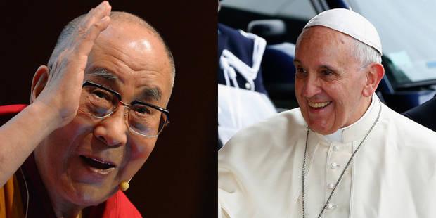 """Desmond Tutu """"attristé"""" par la décision du pape de ne pas rencontrer le dalaï lama - La Libre"""