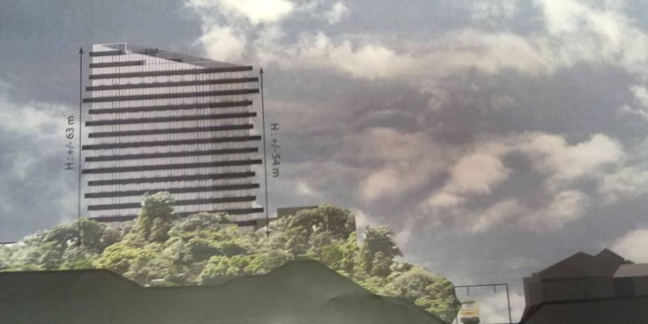 Liège: vers une tour des finances bis? - La Libre