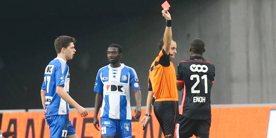5 matches de suspension pour Enoh
