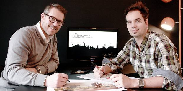 Charleroi: Blow veut imprimer sa marque en ville - La Libre