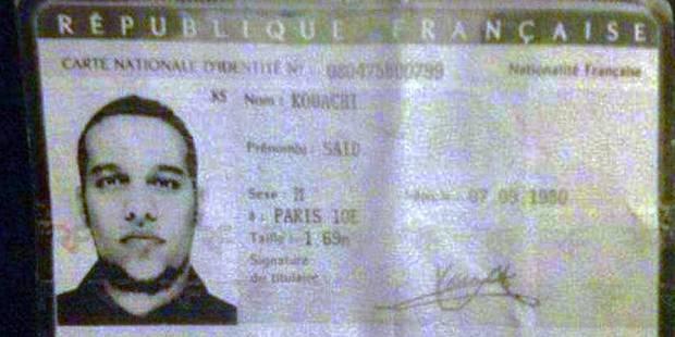 Questions autour de la carte d'identité d'un terroriste - La Libre