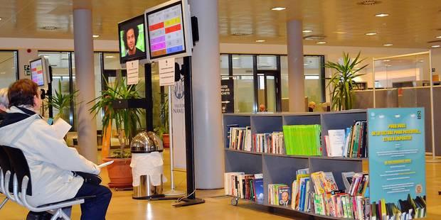 Une bibliothèque d'ouvrages de seconde main à Namur - La Libre