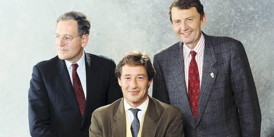 1990: Patrick Sabatier, Etienne Mougeotte, Philippe Lelay