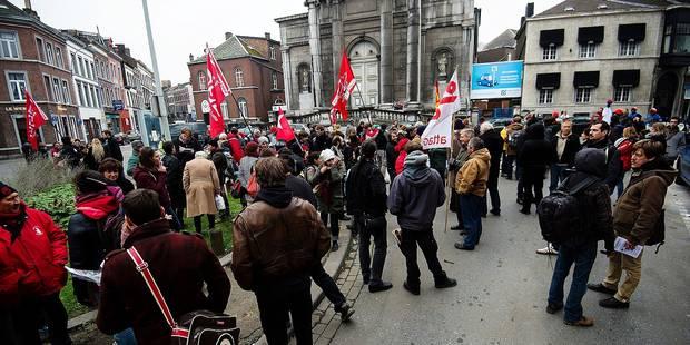 Les grèves ont coûté 628 000 € aux Finances wallonnes - La Libre