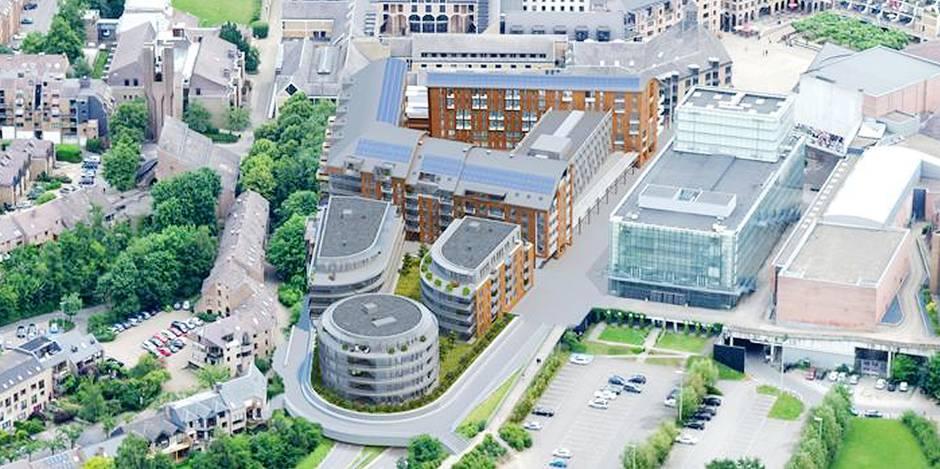Louvain-la-Neuve: permis octroyé pour le prolongement de la dalle