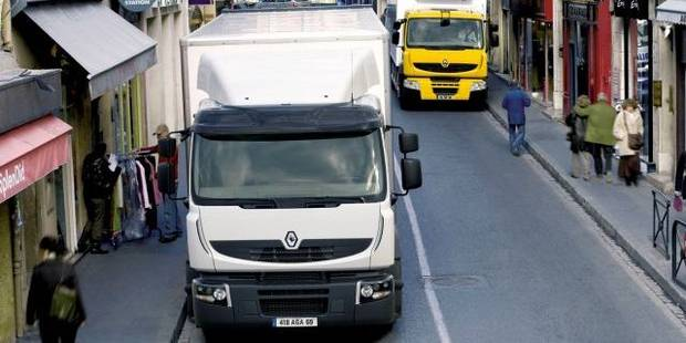 Bruxelles en camion, ce sera deux à trois fois plus cher - La Libre