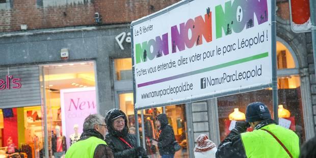 Namur : un comité pour ajuster le projet controversé du parc Léopold - La Libre