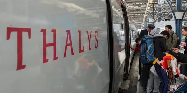 Fin du Thalys flamand le 1er avril, décision lundi pour le Thalys wallon - La Libre