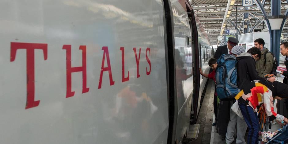 Fin du Thalys flamand le 1er avril, décision lundi pour le Thalys wallon