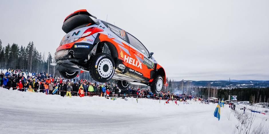 Rallye de Suède: Thierry Neuville sur la 2e marche du podium