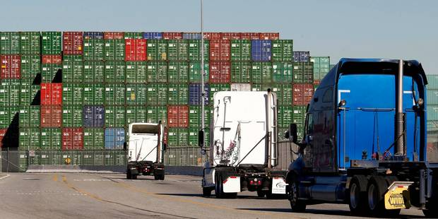 Les exportations belges en recul pour 2014 - La Libre