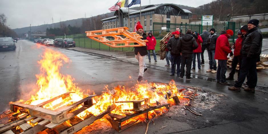 L'exercice du droit de grève suscite toujours la controverse - La Libre