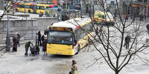 Liège: une centaine de jeunes interpellés dans des bus TEC - La Libre