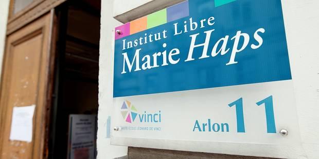 Bâtiment de l' Institut Libre Marie Haps , rue d'Arlon