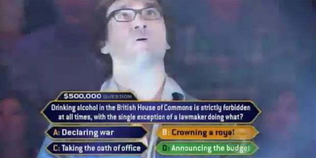 """Témoignage: Ça fait quoi de perdre 225.000 dollars à """"Qui veut gagner des millions"""" ? - La Libre"""