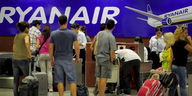 """Ryanair réalise (enfin) que """"Pas d'assurance"""" n'est pas un pays - La Libre"""