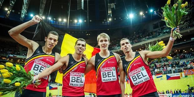 De repêchés à? champions d'Europe: l'histoire folle du relais belge - La Libre