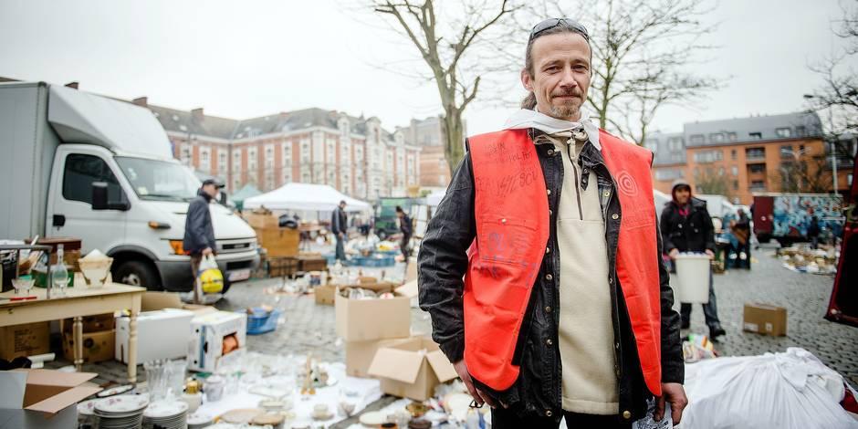 Bruxelles - Place du jeu de balle: Le Vieux Marché fête ses 142 ans - plateforme marolles