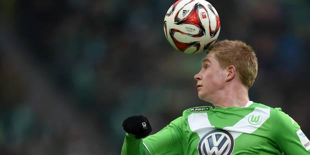 Wolfsburg verrait bien Kevin De Bruyne rester quelques années - La Libre