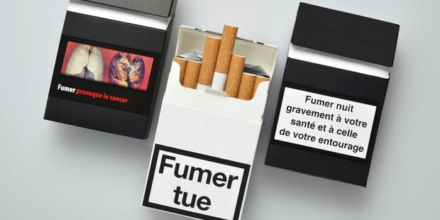 Faut-il imposer les paquets de cigarette neutres ? - La Libre
