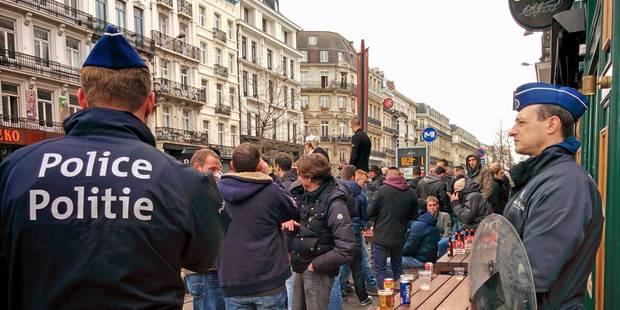 Coupe de Belgique: 28 arrestations admisnistratives, circulation des bus perturbée dans le centre - La Libre