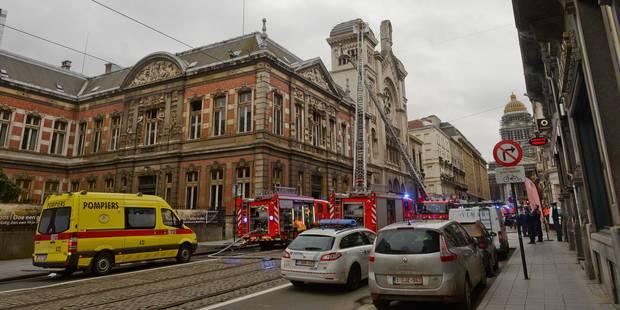 Des cocktails Molotov découverts au Conservatoire Royal de Bruxelles - La Libre