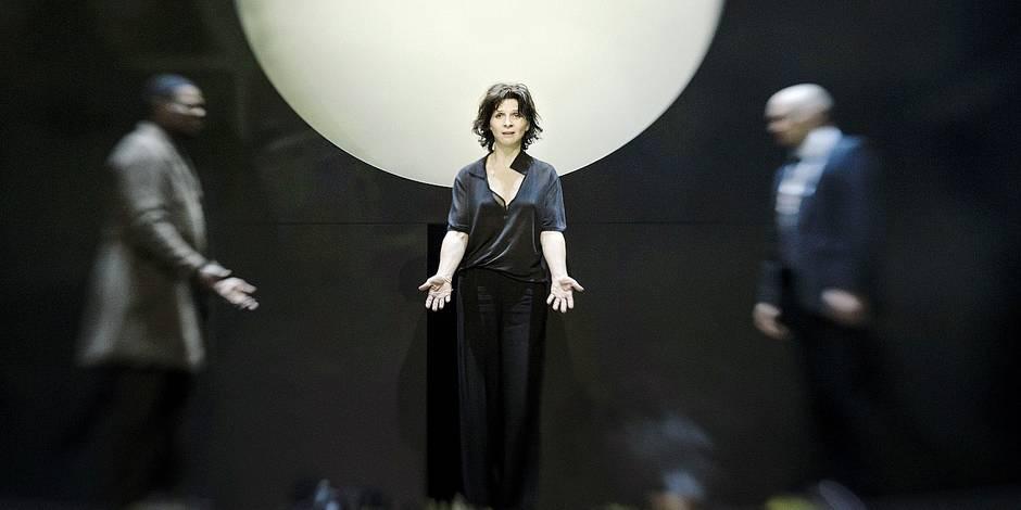 Juliette Binoche, une Antigone tout en fragilité - La Libre