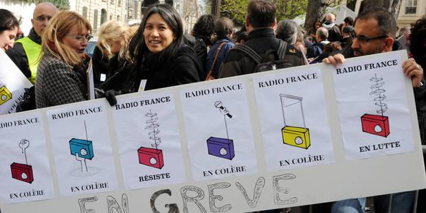 Radio France entame son 19e jour de grève, la plus longue de son histoire - La Libre