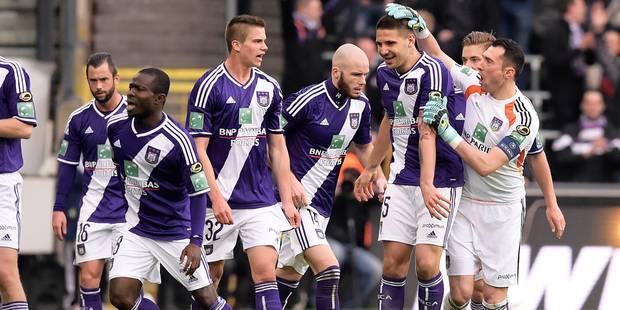 Mitrovic sauve encore Anderlecht (1-0) - La Libre
