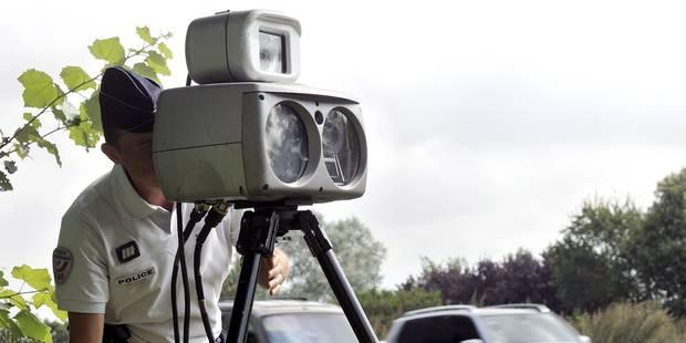 Gare aux radars ce jeudi, jour d'une opération européenne contre la vitesse excessive - La Libre